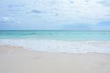 Paradise beach on Bahama island - 195222938