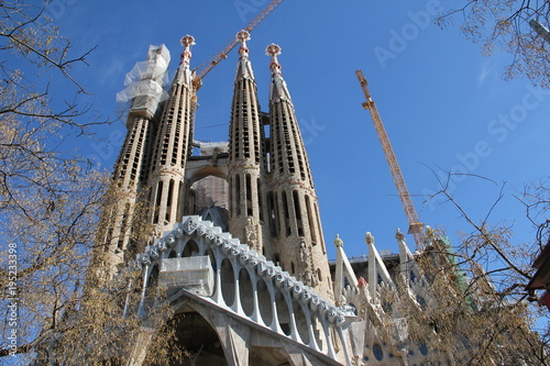 Foto op Canvas Barcelona Sagrada Familia, Barcelona