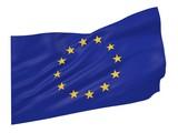3D illustration of European Union flag - 195266197