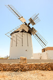 Classic Vintage Windmill Building - 195272332