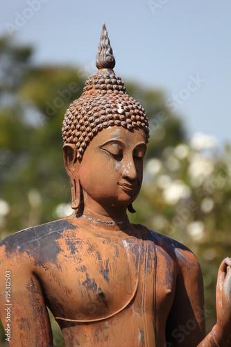 In de dag Boeddha Statue in Thailand