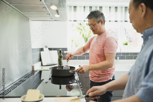 Cooking in the Kitchen with Dad