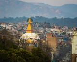 Boudhanath stupa in Kathmandu, Nepal - 195317594