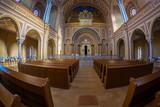 Inside of the Neolog Synagogue Zion. Oradea, Romania - 195330338