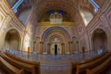 Inside of the Neolog Synagogue Zion. Oradea, Romania - 195330379