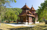 traditional wooden church - 195331380