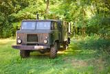 old Soviet military truck - 195331591