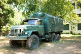 old war truck - 195331744