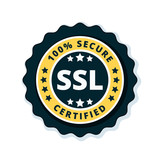 Ssl Certified Label Illustration Wall Sticker