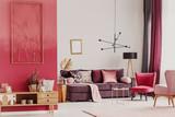 Decorative living room interior - 195346399