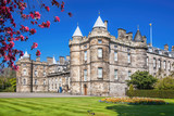 Palace of Holyroodhouse is residence of the Queen in Edinburgh, Scotland - 195347393