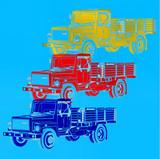 Camion pop art - 195348191