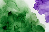 Abstract watercolor spot painted texture background