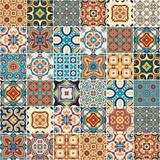 Traditional ornate portuguese decorative tiles azulejos. - 195364378