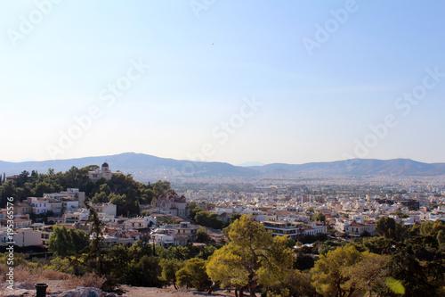 Tuinposter Athene City view ofAthens, Attica, Greece