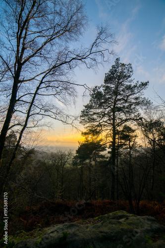Papiers peints Morning Glory dark winter sky sunrise
