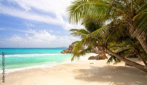 Wymarzona plaża na Seszelach