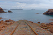 plage de Ploumanac'h dans les cotes d'armor - bretagne