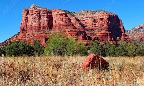 Fotobehang Arizona red rock in Sedona