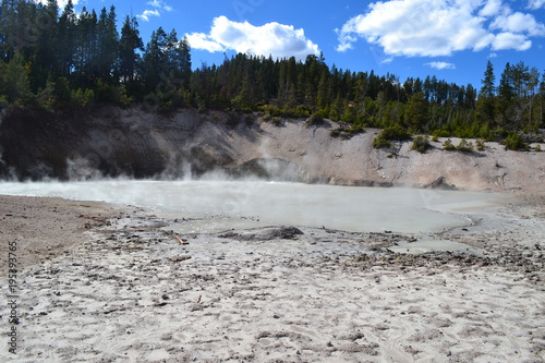 Foto op Canvas Natuur Yellowstone