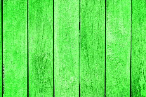 Green wooden background pattern with copy space - 195394555