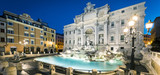 Trevi Fountain by night - 195396702