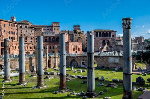 Poster Rome Forum Romanum in Rom in Italien