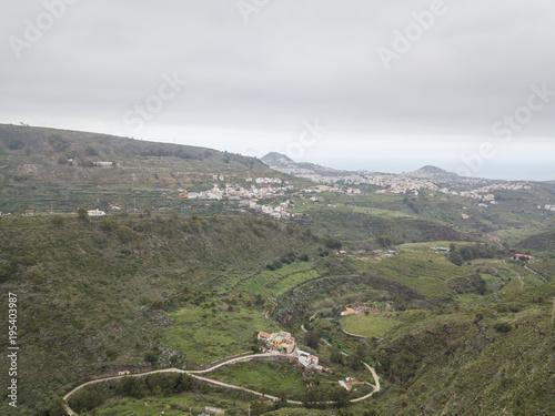 Fotobehang Khaki beautiful air views in Canarian islands