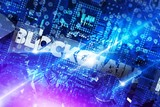 Blockchain Platform Concept 3D