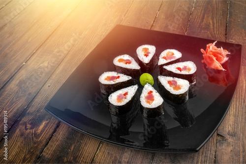 Foto op Canvas Sushi bar Sushi.
