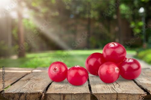 Foto op Aluminium Bol Cranberry.
