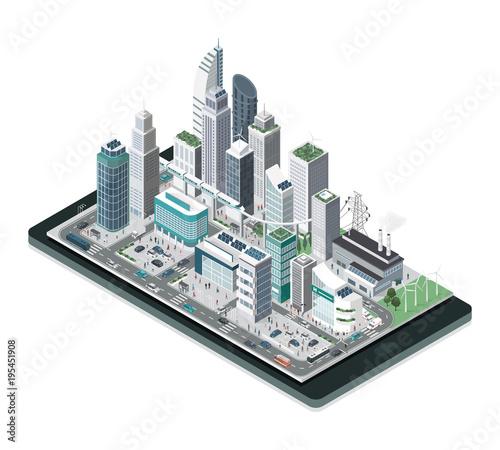 Smart city on a smartphone