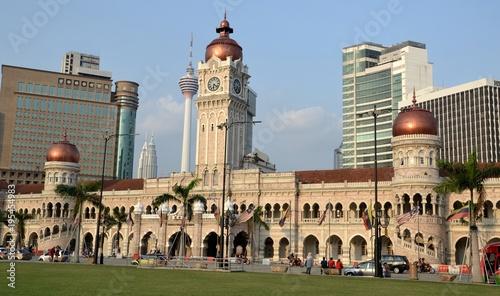 Fotobehang Kuala Lumpur Sultan Abdul Samad Building, Kuala Lumpur, Malaysia