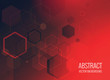 abstract hexagonal background - 195456997
