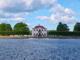 View to the Marley Palace in Peterhof. Saint Petersburg, Russia