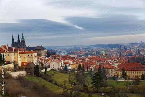 Staande foto Praag View of Prague old town