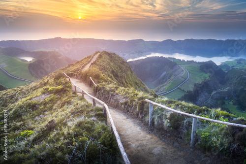 Fotobehang Landschappen Sao Miguel Island, Azores