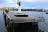 Steg an der See Promenade