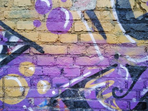 Graffiti Graffito sul Muro Poster