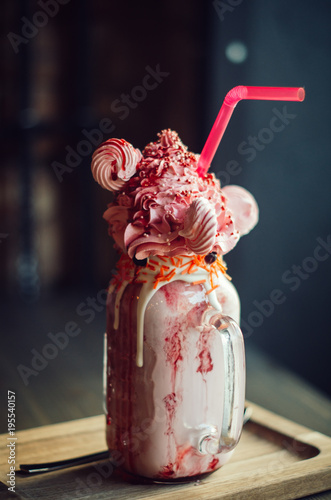 Keuken foto achterwand Milkshake Milkshake