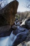 Cascada en el Valle del Jerte. Garganta de las Nogaledas. Arroyo en la montaña