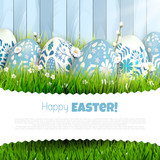 Traditional Easter greeting card