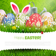 Traditional Easter background