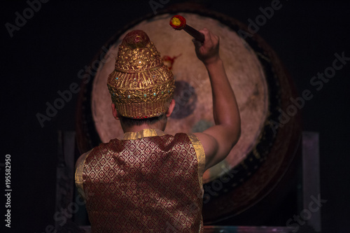 Foto op Aluminium Boeddha Cambodian Arts traditional cultural dance telling the history of Apsara and others