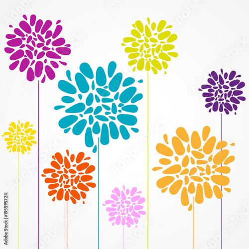 kolorowe-kwiaty-plakat