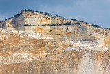 Marble quarry site in Greece