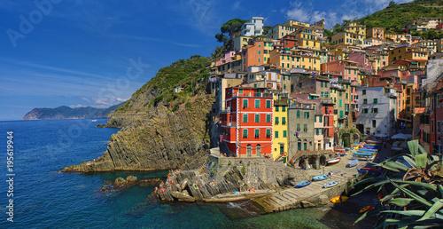 Riomaggiore old village in Cinque Terre, Italy