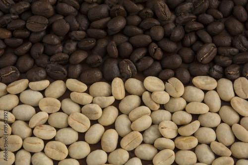 Tuinposter Koffiebonen Colombian coffee, traditional drink