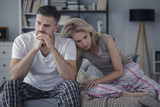 Couple with problems in communication - 195625759