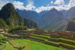 Tourist people in Machu Picchu